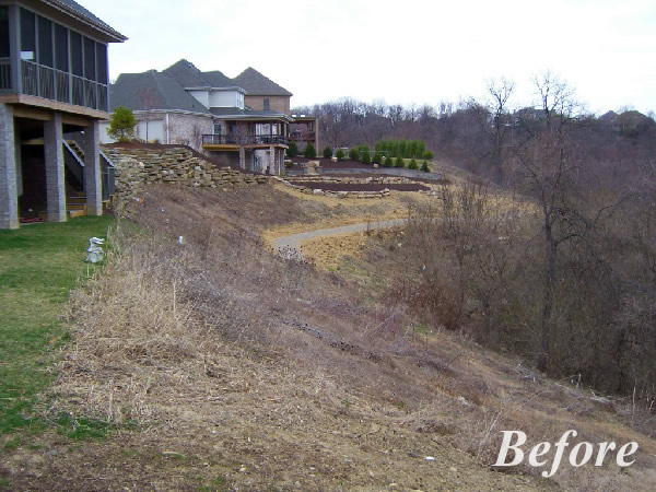 life short landscaping ideas on slopes
